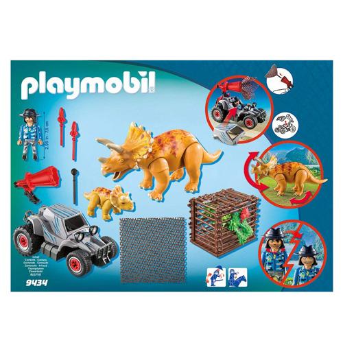 Terénní auto se síti na lov dinosaurů Playmobil Dinosauři, 59 dílků