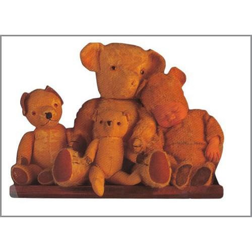 Pohlednice Anne Geddes Plyšoví medvídci 7299