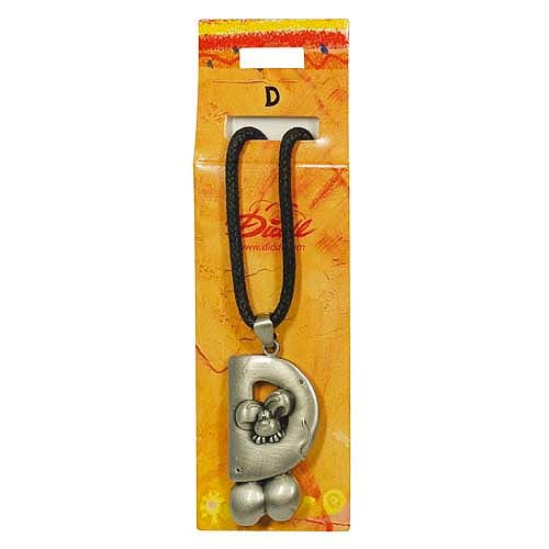 Diddl & Friends Náhrdelník abeceda Diddl Diddl - D, 006026