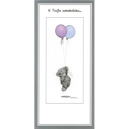 Blahopřání Me to You K Tvojim narodeninám … (dva balónky)