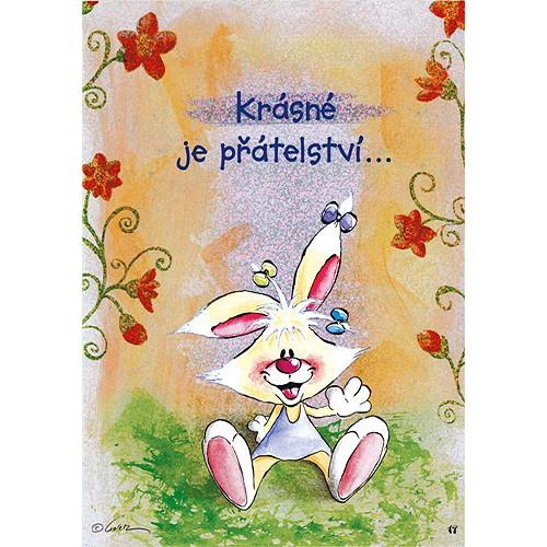 Diddl & Friends Blahopřání Diddl a jeho přátelé Krásné je přátelství…