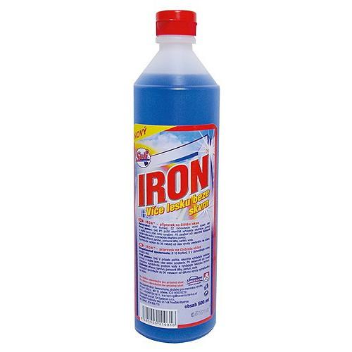 Spotřeba Iron čistič na sklo 500 ml.