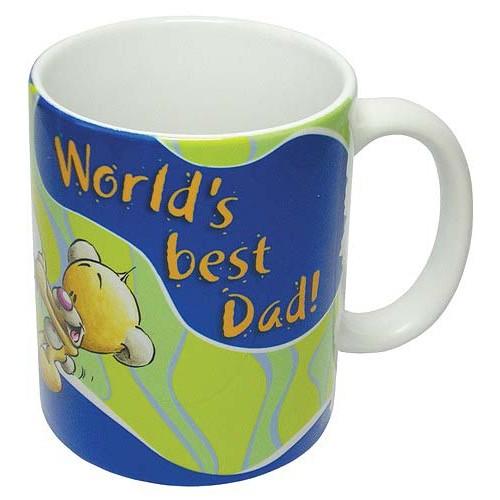 Diddl & Friends Hrnek Diddl Hrnek III. Diddl # Worldś best Dad!