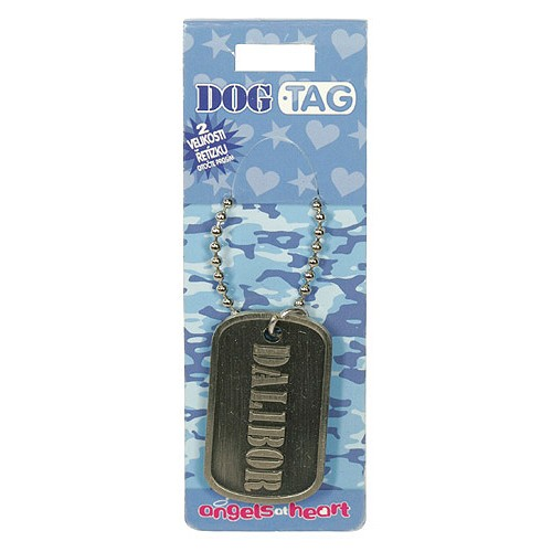 Angels at Heart Dog Tag jméno Dalibor, 021034
