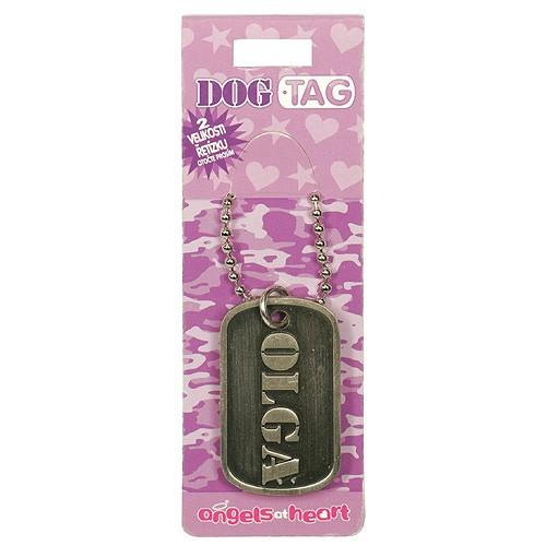 Angels at Heart Dog Tag jméno Olga, 021107