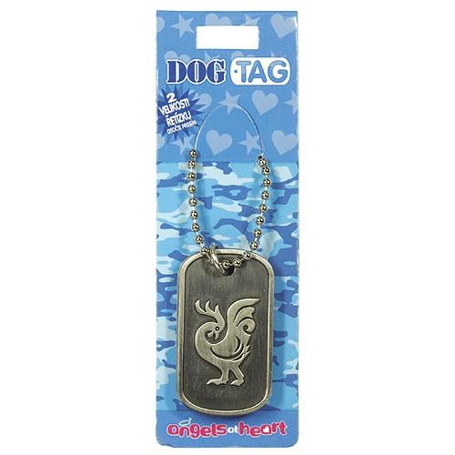 Angels at Heart Dog Tag znamení čínské znamení kohout, 021173