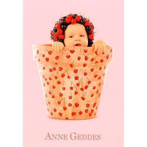 Blahopřání Anne Geddes Blahopřání malé, ECI - květináč třešně