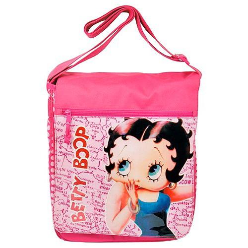Taška přes rameno Betty Boop růžová