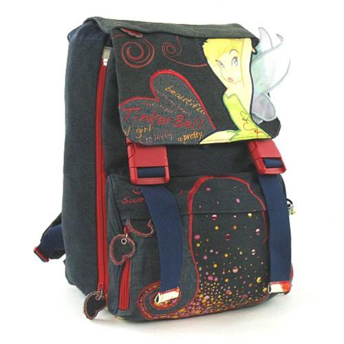 Školní batoh Tinker Bell 2 spony, Tinker Bell