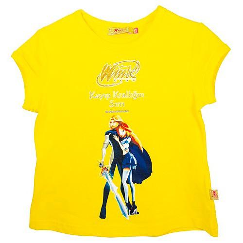 Tričko Winx Club Tričko krátký rukáv 116 žluté, WinX