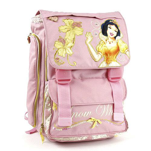 Školní batoh Princess na přezky, Princess Pink