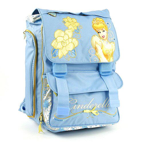 Školní batoh Princess na přezky, Princess Blue