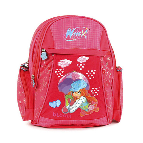 Školní batoh Winx Club #2 zipy Bloom, WinX