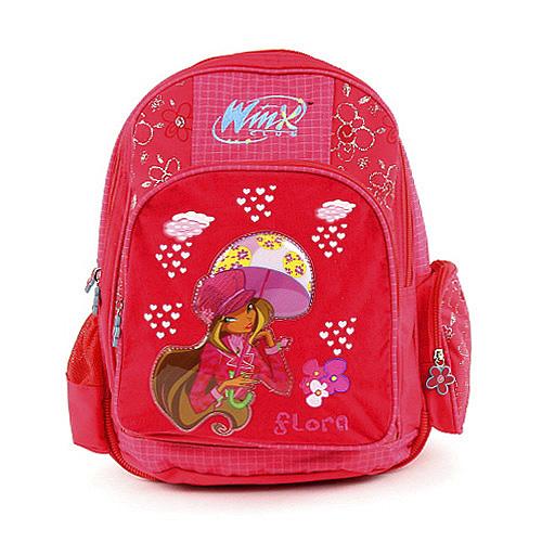 Školní batoh Winx Club #3 zipy Flora, WinX