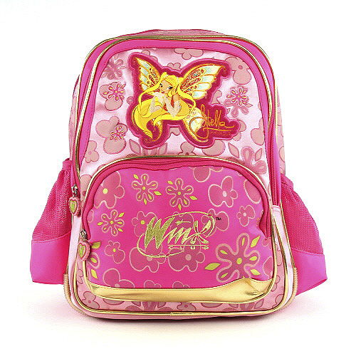 Školní batoh Winx Club #3 zipy Gold Enchantix, WinX