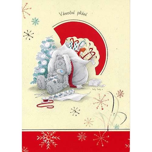 Blahopřání  Me to You Vánoční přání