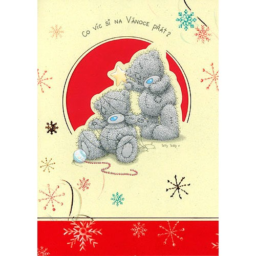 Blahopřání  Me to You Co víc si na Vánoce přát ?