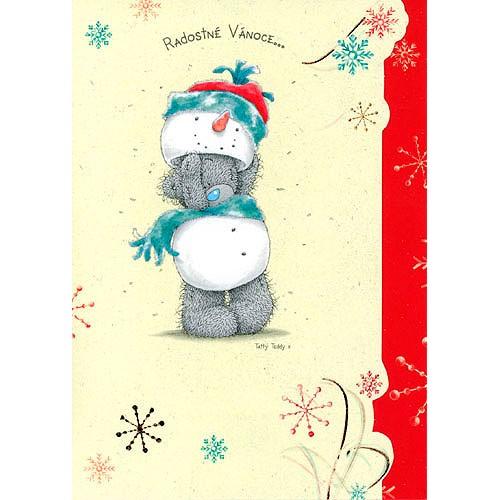 Blahopřání Me to You Radostné Vánoce