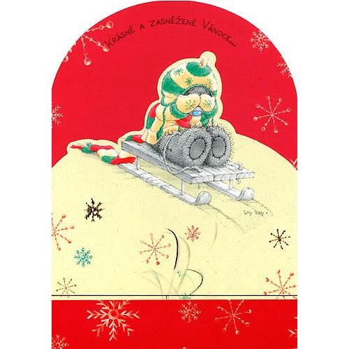Blahopřání  Me to You Krásné a zasněžené Vánoce…