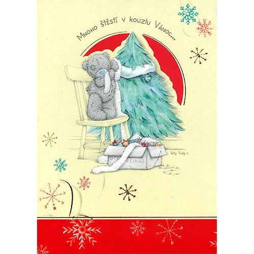 Blahopřání  Me to You Mnoho štěstí v kouzlu Vánoc…