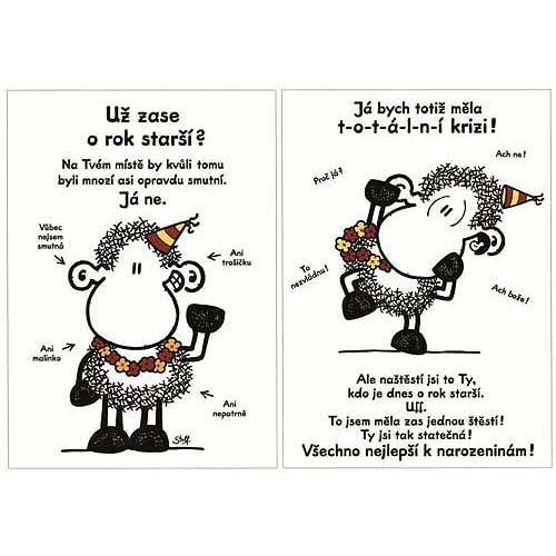 Blahopřání Sheepworld Už zase o rok starší?