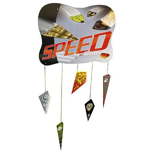 Create Your Banner Speed Glider Banner Vytvoř si svůj Speeder