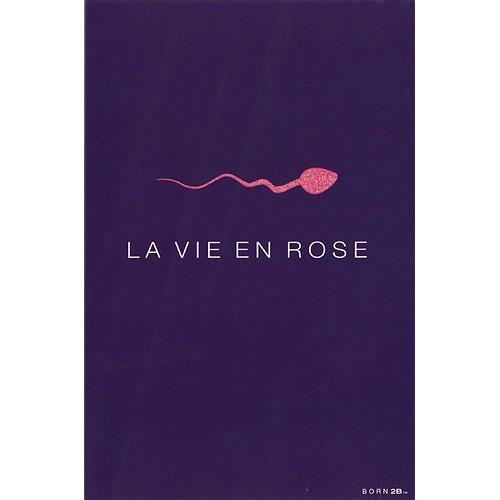 Blahopřání Born 2B LA VIE EN ROSE