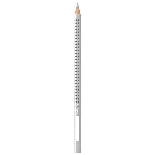 Faber-Castell Pastelky Grip 2001, stříbrná