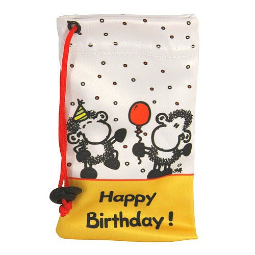 Pouzdro na mobil Sheepworld Pouzdro na mobil Happy Birthday, Sheepworld