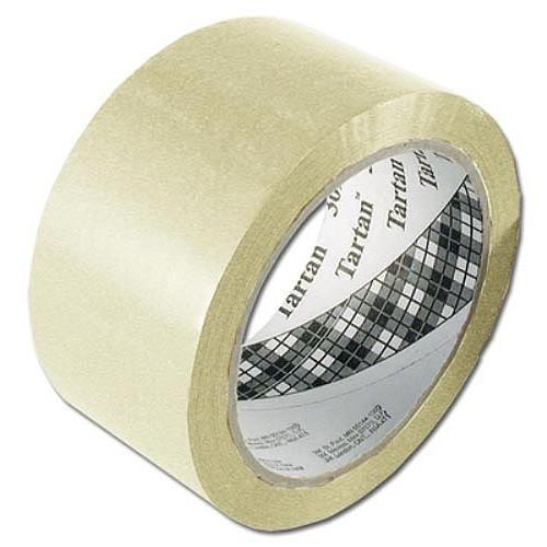 Balicí páska Tartan Bal.páska 50 mm x 66 m - transparent, Tartan