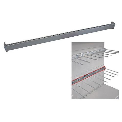 Bohnacker Úchyt na háky děrovaný 30x15 mm  100 cm