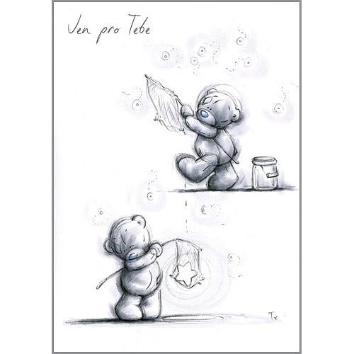 Kreslené blahopřání Me to You Jen pro Tebe
