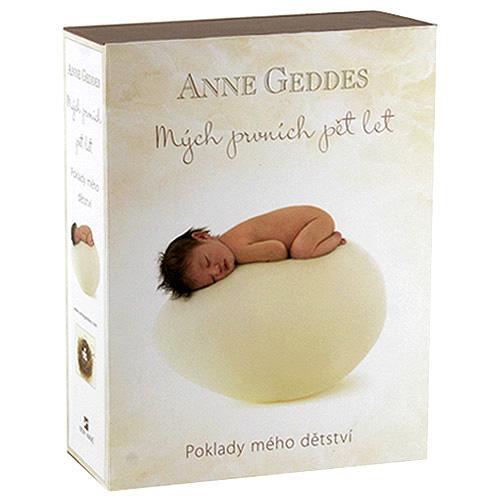 Anne Geddes Kniha Mých Prvních Pět Let Beginnings CZ
