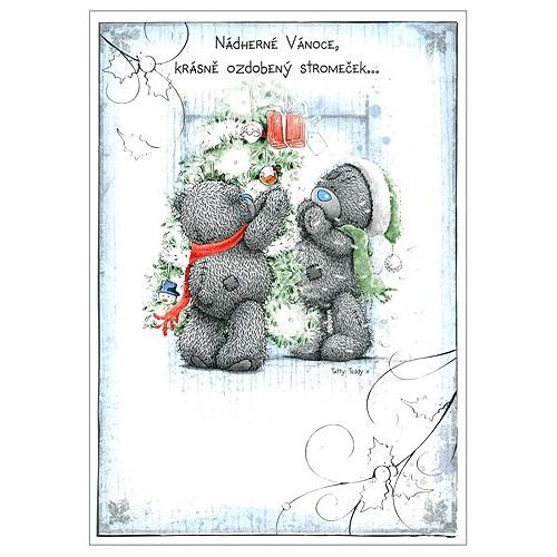 Blahopřání  Me to You Nádherné Vánoce…