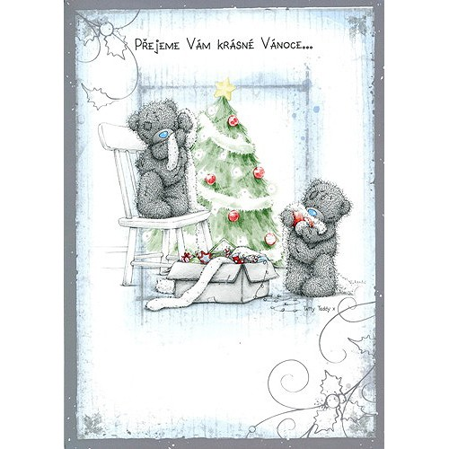 Blahopřání  Me to You Přejeme Vám Krásné Vánoce