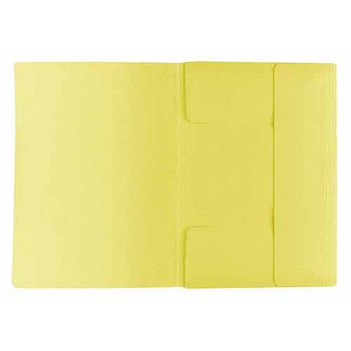 Desky A4 Bobo Mapa 3 klopy 253 A4 - žlutá