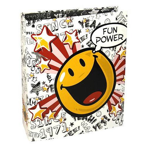 Šanon A4 Smiley World Šanon A4 klip Fun Power white