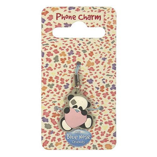 Přívěsek na mobil  My Blue Nose Friends Přívěsek na mobil panda Binky