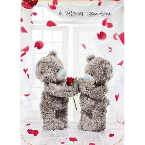 Blahopřání  Me to You K Vašemu zasnoubení