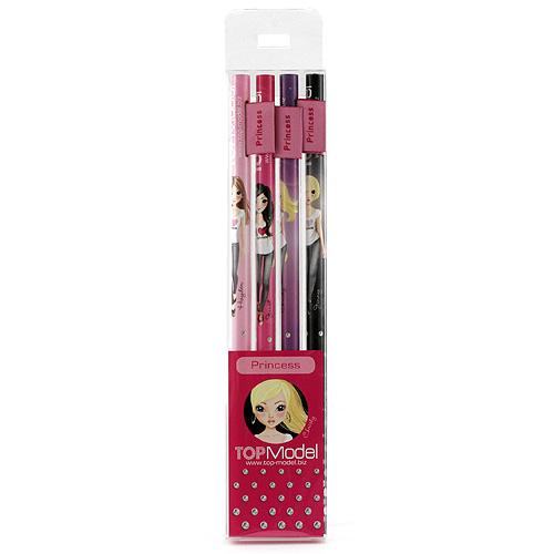 Tužky Top Model Tužky s vlaječkou Princess, Top Model