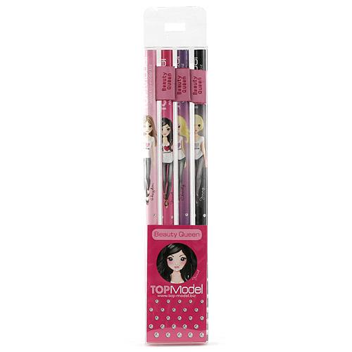 Tužky Top Model Tužky s vlaječkou Beauty Queen, Top Model