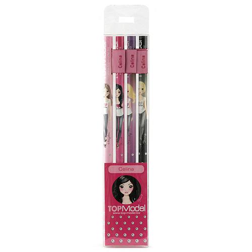 Tužky Top Model Tužky s vlaječkou Celina, Top Model