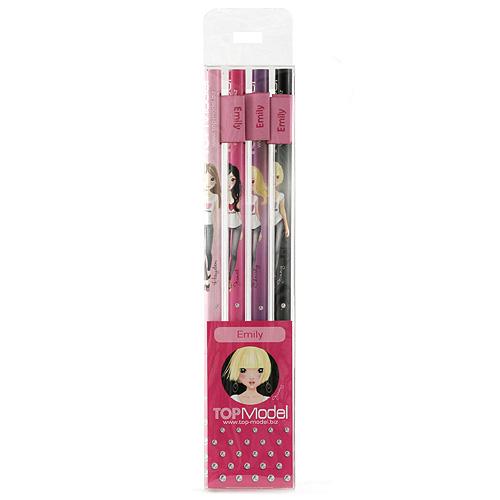 Tužky Top Model Tužky s vlaječkou Emily, Top Model