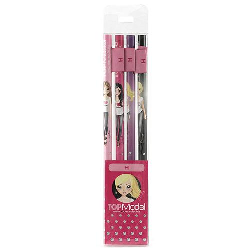 Tužky Top Model Tužky s vlaječkou H, Top Model