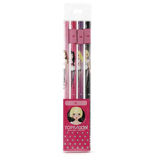 Tužky Top Model Tužky s vlaječkou K, Top Model