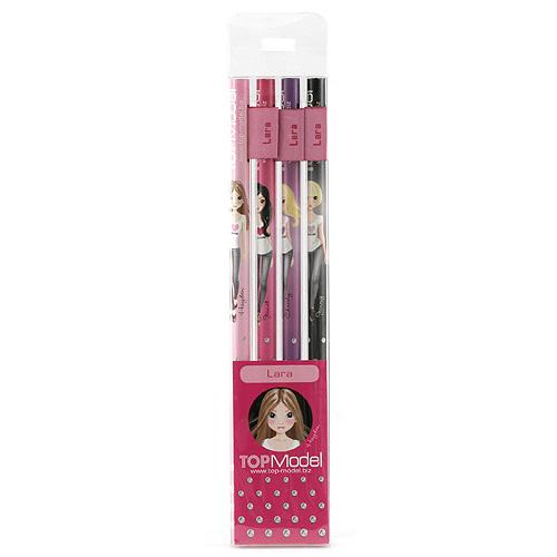 Tužky Top Model Tužky s vlaječkou Lara, Top Model