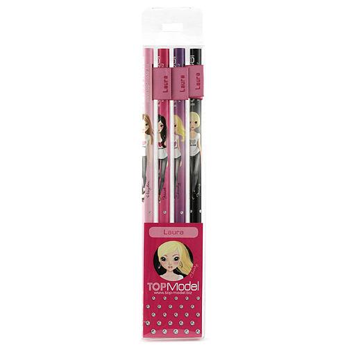 Tužky Top Model Tužky s vlaječkou Laura, Top Model
