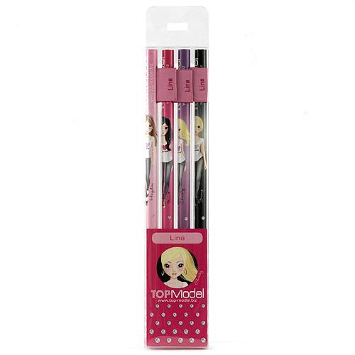 Tužky Top Model Tužky s vlaječkou Lina, Top Model