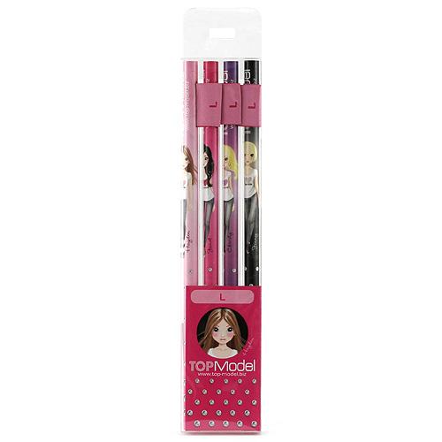 Tužky Top Model Tužky s vlaječkou L, Top Model