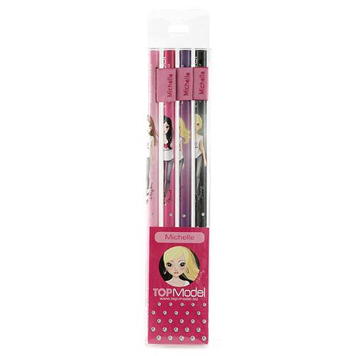 Tužky Top Model Tužky s vlaječkou Michelle, Top Model